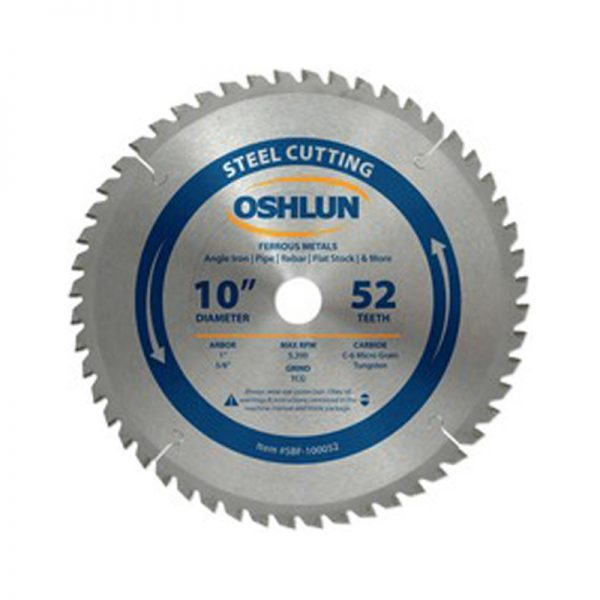 S&D Industrial Supply Oshlun 10 x 52T Saw Blade